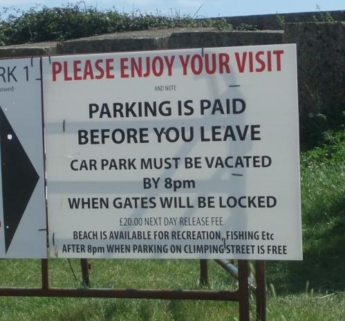 polite sign