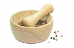 This is great for grinding spices, and should always be washed up afterwards.